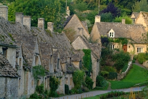 The Cotswold village of Bibury