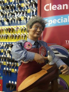 In the UK you go to funny little cobbler shops with weird, freaky mannequins to get your keys cut