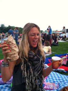 At Preakness you can drink out of brown paper bags... :)
