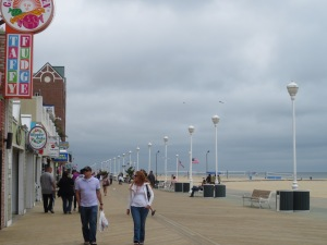 A breezy boardwalk