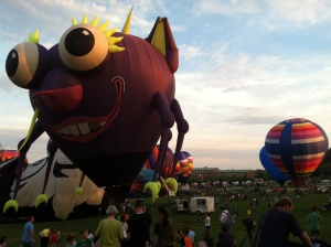Giant funny balloons