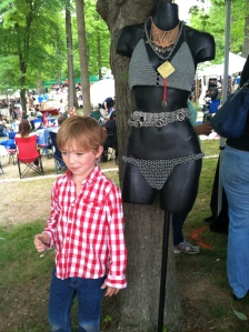 It's not just wine at the festival - and Harry's not impressed :)