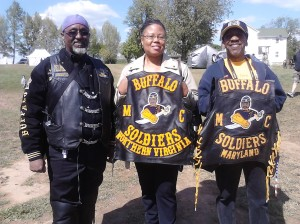 The Buffalo Soldiers Motorcycle Chapter