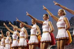 Everyone loves a cheerleader!