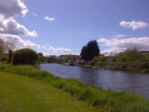 The Wychavon riverbank
