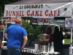 And ruddy Funnel Cake!