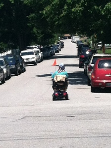 This guy stopped the traffic :)