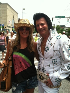 Me and Elvis....