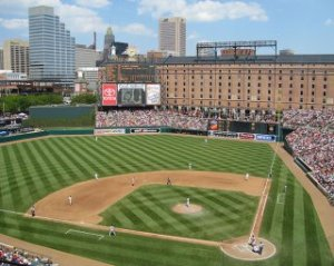 I'm going to Camden Yards to see the Orioles at last! Hoorah!
