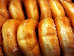Sticky doughy donuts