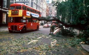 The UK storm of 1987