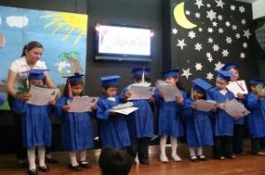 A kindergarten graduation.....