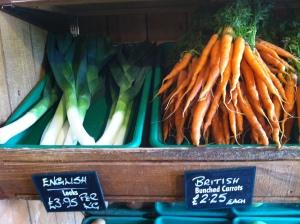 Brit fruit and veg!
