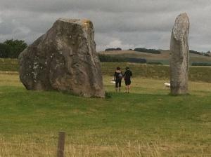 Avebury Standing Stones (or 'giants' graves)