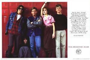 Ah, the Breakfast Club - a proper teenagers' movie