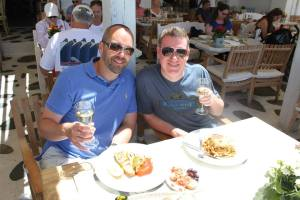 Dale and Jeff in Greece