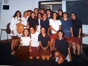 International girls in Gibraltar! (Can you spot me!?)