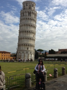 Jane and the Leaning Tower of...watch out!