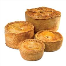 Rog loves a pork pie!
