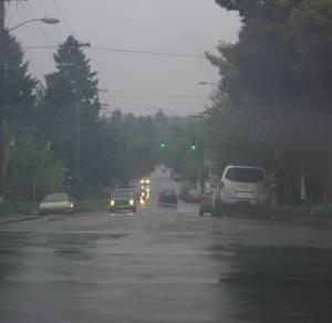 Crazy rain!