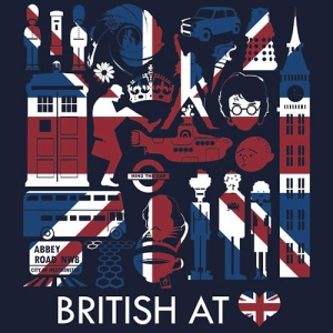That's right, British at heart I am!