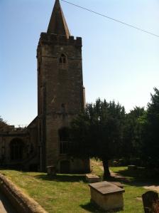 The church I got married in