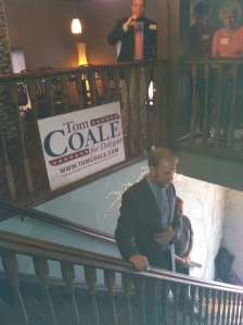 Privileged to be part of a political campaign with Democrat 9B candidate Tom Coale