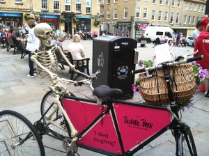 Bizarre Bath promotes its  funny walking tours