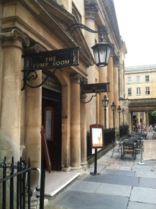 The Bath Pump Rooms - Roman history at its best