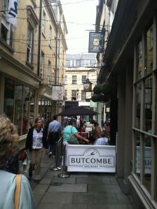 A typical Bath side street