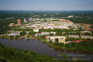 Columbia - a view from above by Jeffrey Sauers