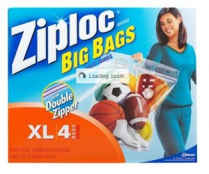 Who knew there were so many Ziploc bags to choose from?!