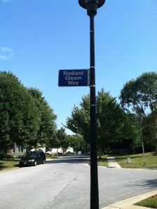 Marvellous road names, like this...