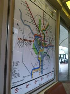 DC Metro lines