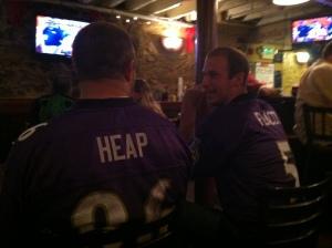 That Ravens' purple is everywhere!