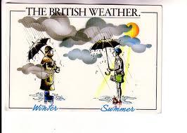 Not really the British weather.....