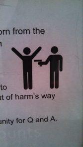 Hands up.....