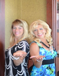 Shari and Brenda - and me...?!