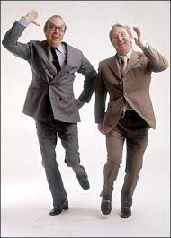 British comedy geniuses, Morecambe & Wise
