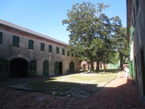 The slave quarters