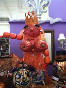 Pumpkin boobs and all!