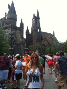 Butter beer at Hogwarts
