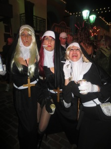 The dirty nuns :)