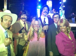 Loved the Anchorman dudes! Genius!