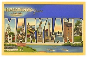 Maryland, I loves ya, I do!