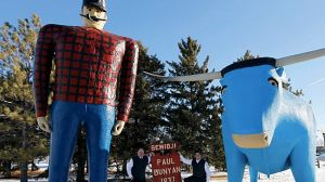 Paul Bunyan thing