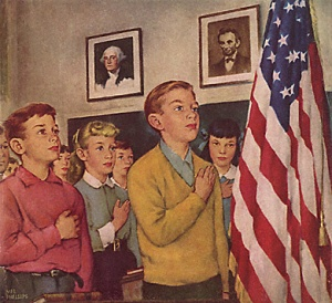 How I view Harry's class being all patriotic on a Friday :)