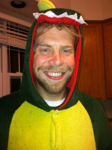 Adult dinosaur onesie :)