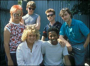 The young Eastenders in the 1980s