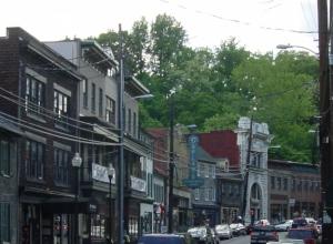 Fabulous old Main Street in Ellicott City